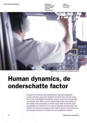 Human dynamics, de onderschatte factor