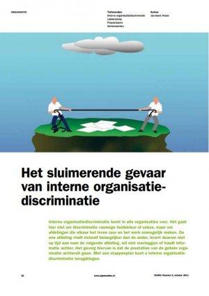 Het sluimerend gevaar van interne organisatiediscriminatie