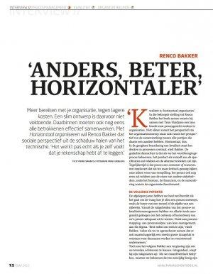 Anders, Beter, Horizontaler
