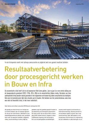 Resultaatverbetering door procesgericht werken in Bouw en Infra