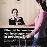 Effectief leiderschap van hotelorganisaties in turbulente tijden