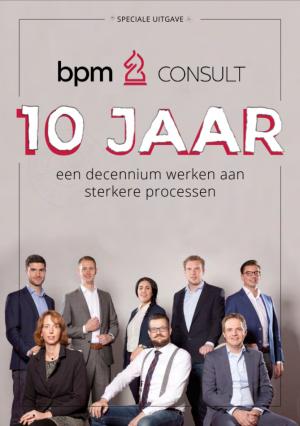 Decennium uitgave 10 jaar BPM Consult