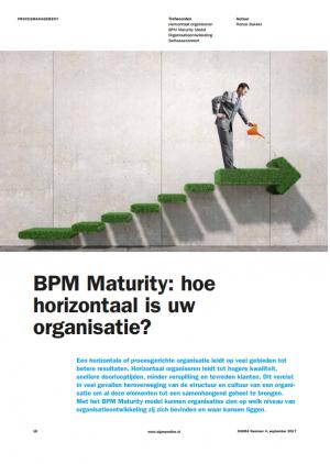 BPM Maturity: hoe horizontaal is uw organisatie
