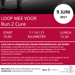 Event: Run 2 Cure – etappe BPM Consult