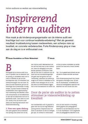 Inspirerend intern auditen